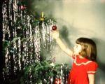 child tree tinsel