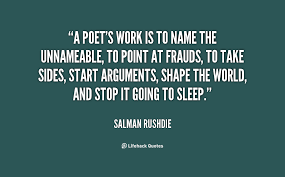 a poets work